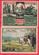 Allemagne 1 Notgeld 50 Pfenning  Stadt Burg Giebichenstein  état Lot N °108 - [ 3] 1918-1933 : Weimar Republic