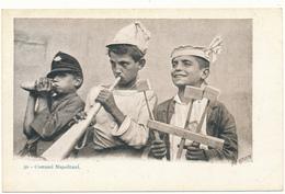 NAPOLI - Costumi Napolitani - Enfants Musiciens - Napoli