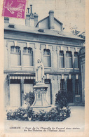 Lisieux Cour De  La  Chapelle Du Carmel 1922 - Lisieux