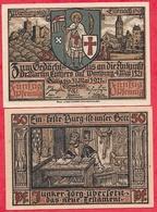 Allemagne 1 Notgeld 50 Pfenning  Stadt Wartburg   UNC Lot N °128 - 1918-1933: Weimarer Republik