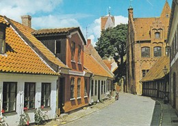 Postcard Ribe Street  [ Esbjerg Jutland ] Denmark My Ref  B22377 - Denmark