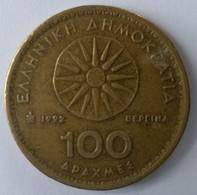 Monnaies - Grèce - 100 Drachmes 1992 - - Grèce