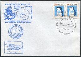1994 Poland Antarctica Antarctic Polar Expedition Penguin Cover - Antarctic Expeditions
