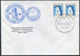 1994 Poland Antarctica Antarctic Polar Expedition Penguin Cover. - Antarctic Expeditions