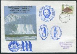 1996 Poland Antarctica Antarctic Polar Expedition Penguin Arctowski Cover - Antarctic Expeditions