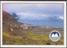 1994 Poland Antarctica Polar Expedition Penguin, Polish Antarctic Station Arctowski Postcard. SIGNED - Research Stations