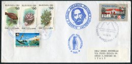 1995 Poland Antarctica Polar Expedition Penguin Cover. Chile, Arctowski - Research Stations