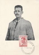 Niels Finsen 1960 Kobenhavn FDC Carte - Médecine Santé Health - Maximum Cards & Covers