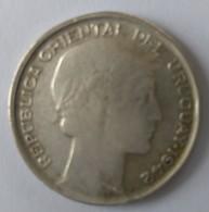 20 Cts 1942 - URUGUAY - Argent - TTB - - Uruguay