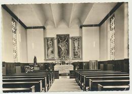 AK  Herten Westfalen St. Elisabeth Hospital Kirche Inneres 1966 - Herten