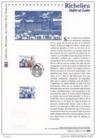 """"""" RICHELIEU """" Sur Document Philatélique Officiel 2008.  N° YT 4258. DPO.( Prix à La Poste = 5 €) - Postdokumente"""