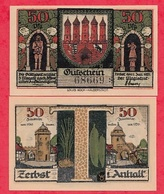 Allemagne 1 Notgeld 50 Pfenning  Stadt Zerbst UNC  Lot N °150 - [ 3] 1918-1933 : Weimar Republic