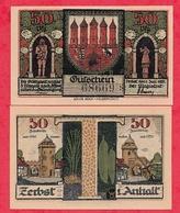 Allemagne 1 Notgeld 50 Pfenning  Stadt Zerbst UNC  Lot N °150 - 1918-1933: Weimarer Republik