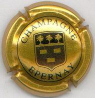 CAPSULE-CHAMPAGNE EPERNAY N°12 Or & Noir - Epernay