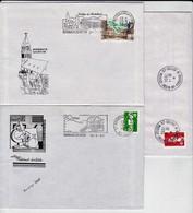College De ROHRBACH Les BITCHE Oblitérations De 1992/ 94/95 - Mechanical Postmarks (Advertisement)