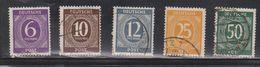 GERMANY Scott # 535, 537, 539, 546, 551 Used - Germany