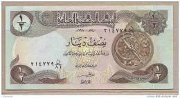 Iraq - Banconota Non Circolata Da 1/2 Dinaro P-68a.1 - - Iraq