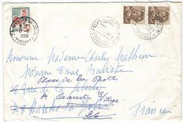ITALIA - ITALY - ITALIE - 1968 - 2 X 25 Michelangiolesca + 0,30 Coq De Decaris - Tax, Postage Due - Viaggiata Da Chiomon - 6. 1946-.. Republic