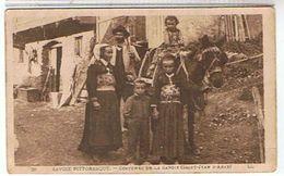 73  COSTUMES  DE LA SAVOIE  SAINT  JEAN  D'ARVE     BE  1H937 - Autres Communes