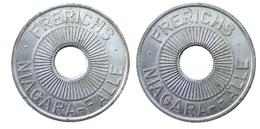 03126 GETTONE TOKEN JETON FICHA GAMING AMUSEMENT CENTER FRERICHS NIAGARA FALLE - Allemagne