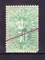 Bayern, Gebuehrenmarke, 50 Pfg (47622) - Gebührenstempel, Impoststempel
