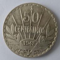 URUGUAY - 50 Centésimos 1943 - Argent - - Uruguay