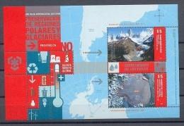 STAMP Argentina Mint (**) 2009 Block BF Antarctic - Argentina