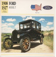 FICHE VOITURE FORD MODEL T - Cars