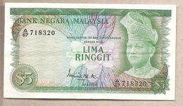 Malesia - Banconota Circolata Da 5 Ringgit P-2a - 1967 - Malesia