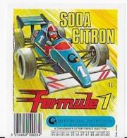 10 étiquettes SODA CITRON - Etiquettes