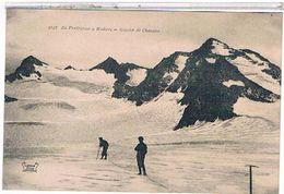73  DE  PRALOGNAN  A  MODANE  GLACIER  DE CHAVIERE   + PERSONNAGE   TBE     1T455 - Pralognan-la-Vanoise