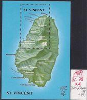 St. VINCENT 1989 Mi. Block 78, PHILEXFRANCE '89, MNH Postfrisch - Ships