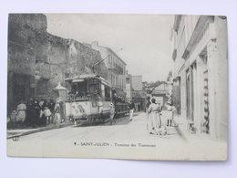 MARSEILLE Saint Julien Terminus Des Tramways Tram - Saint Barnabé, Saint Julien, Montolivet