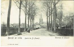 Herk-de-Stad/Herck-la-Ville. Porte De St.Frond. Environs De Hasselt. - België
