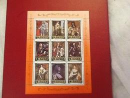 Stamp Sheet 1984 Royalty British - Corea Del Nord