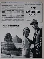 Réclame / Publicité 1963 - AIR FRANCE - Pubblicitari