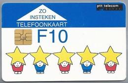 NL.- Telefoonkaart. PTT Telecom. 10 Gulden. Bruna. Prettige Feestdagen En Een Voorspoedig Nieuwjaar. A311 - Stripverhalen