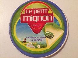"""ETIQUETTE DE BOITE DE FROMAGE- """" LE PETIT MIGNON"""" - Fromage"""