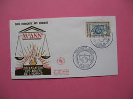 FDC   Côte Française Des Somalis     1963     N°  318 - Lettres & Documents