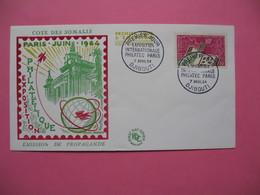 FDC   Côte Française Des Somalis     1964     N°  319 - Lettres & Documents