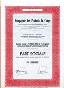 Compagnie Des Produits Du Congo - Afrique