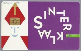 NL.- Telefoonkaart. PTT Telecom. 10 Gulden. SINTERKLAAS. A811 - Telefoonkaarten