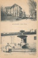 30 // BELLEGARDE  Deux Vues,   Route D'arles  +  Fontaine Des Lions  ** - Bellegarde