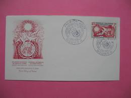 FDC   Nouvelle-Calédonie     1958      N°   290 - FDC