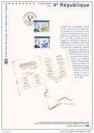 """"""" DE GAULLE / Vème REPUBLIQUE """"  Sur Doc Philateliq Officiel De 2008. N° YT 4282 Parfait état. Prix à La Poste = 5 € DPO - De Gaulle (General)"""