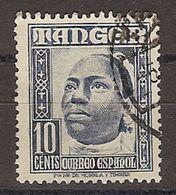 Tanger U 154 (o) Personajes. 1948 - Marruecos Español