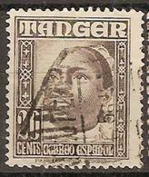 Tanger U 155 (o) Personajes. 1948 - Marruecos Español