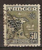 Tanger U 157 (o) Personajes. 1948 - Marruecos Español