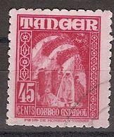 Tanger U 158 (o) Personajes. 1948 - Marruecos Español