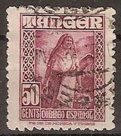 Tanger U 159 (o) Personajes. 1948 - Marruecos Español